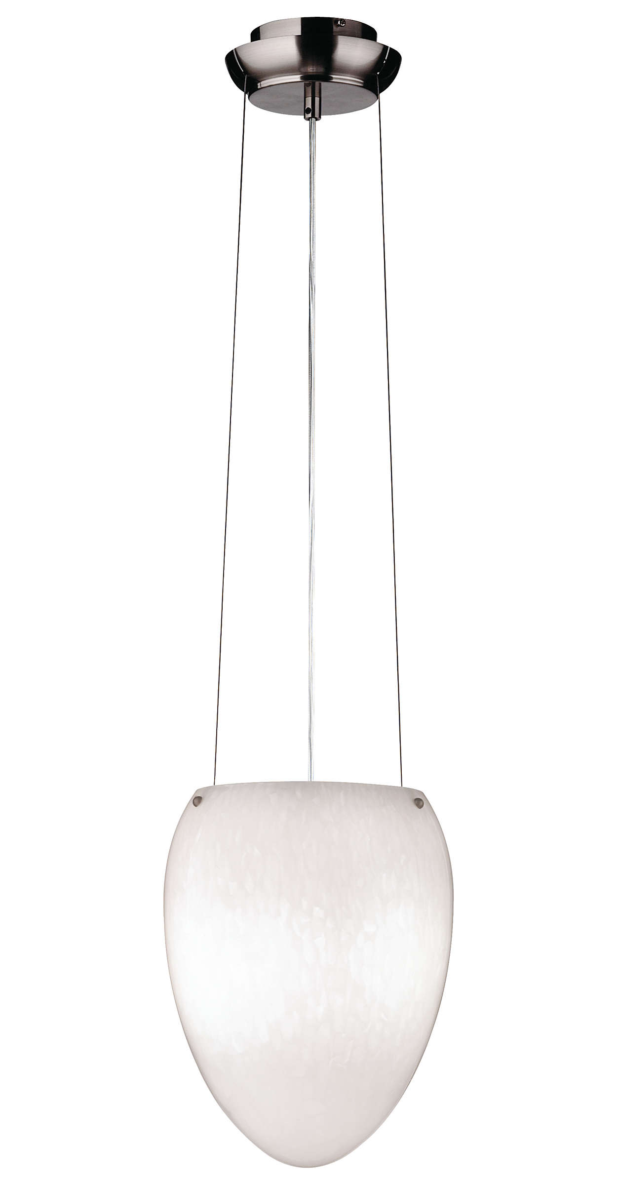 Madison 1-light Chandelier in Satin Nickel finish