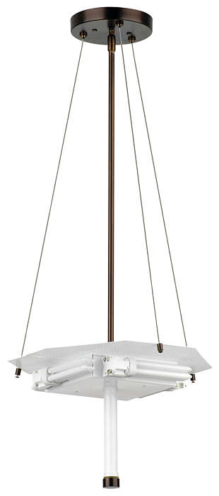 Taylor 4-light Pendant in Merlot Bronze finish