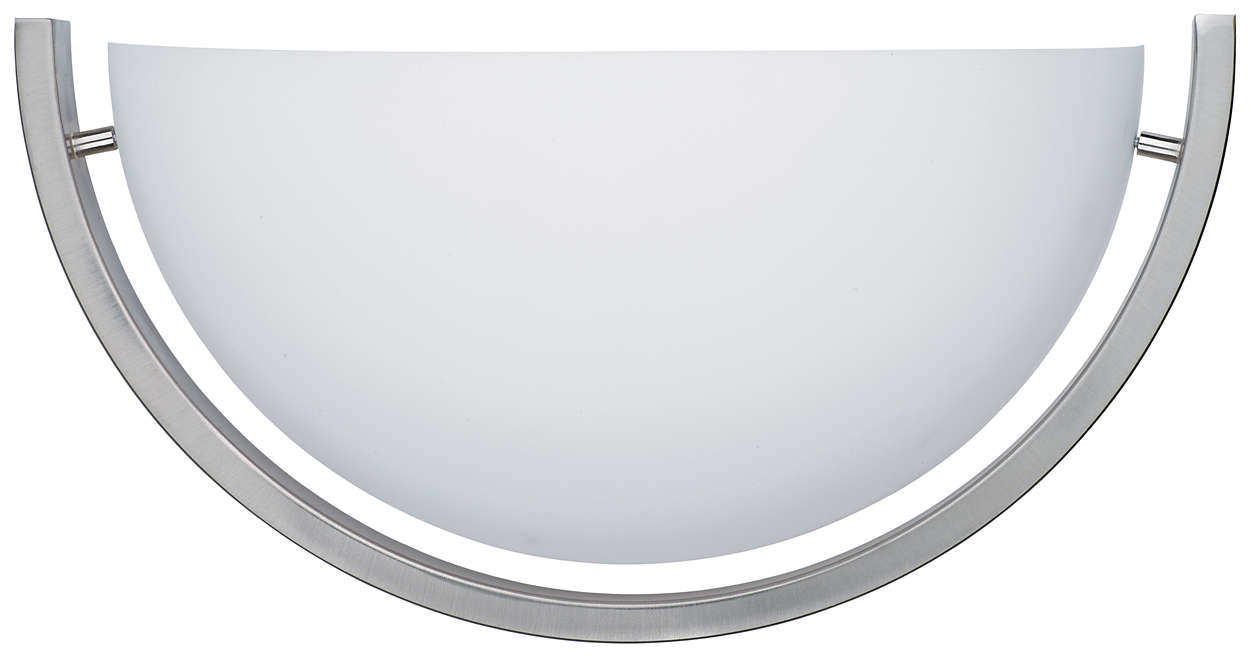 Fleetwood 1-light Bath in Satin Nickel finish