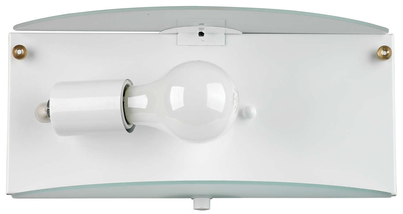 Cassandra 1-light Bath in White finish