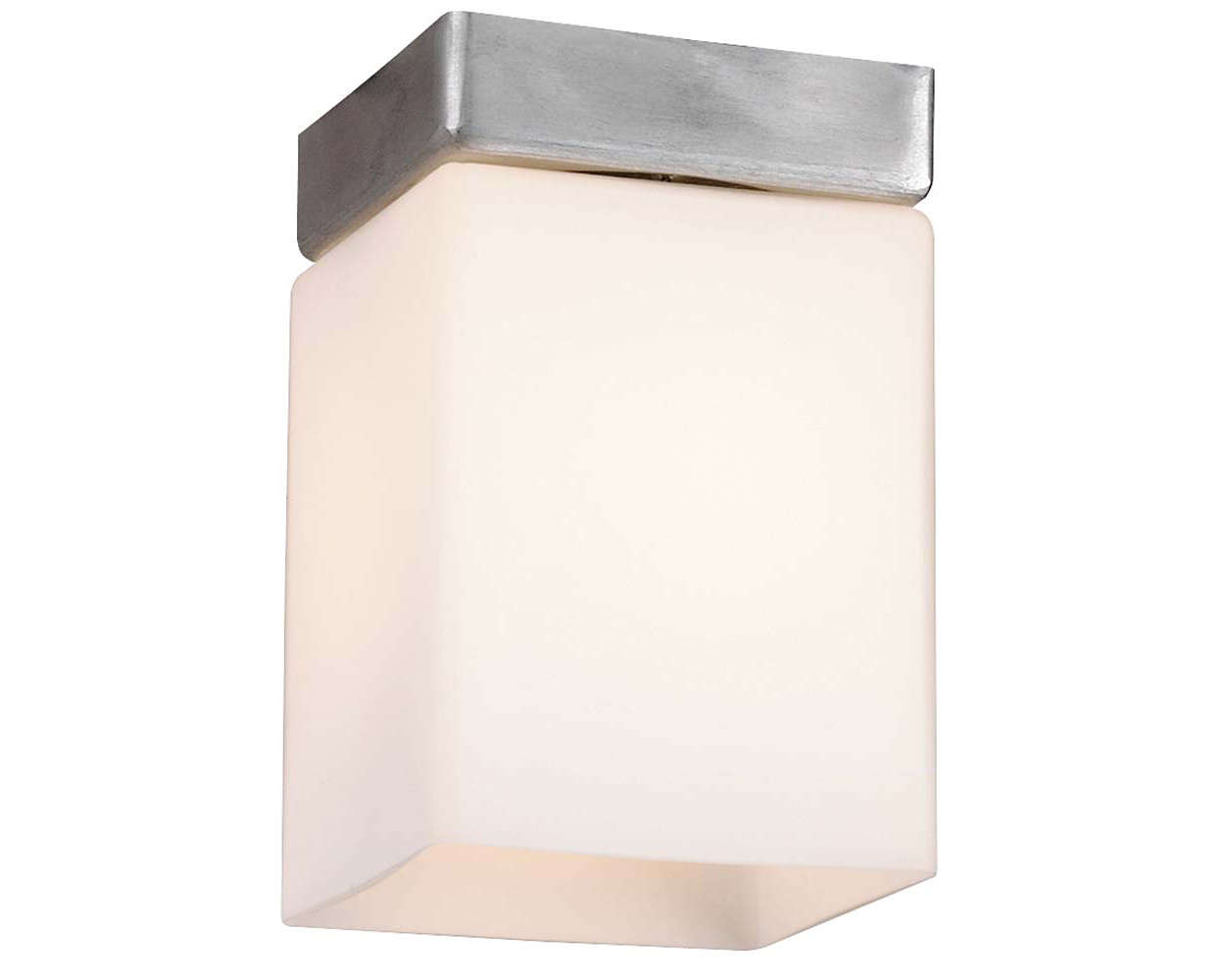 Beacon 1-light Ceiling in Satin Aluminum finish