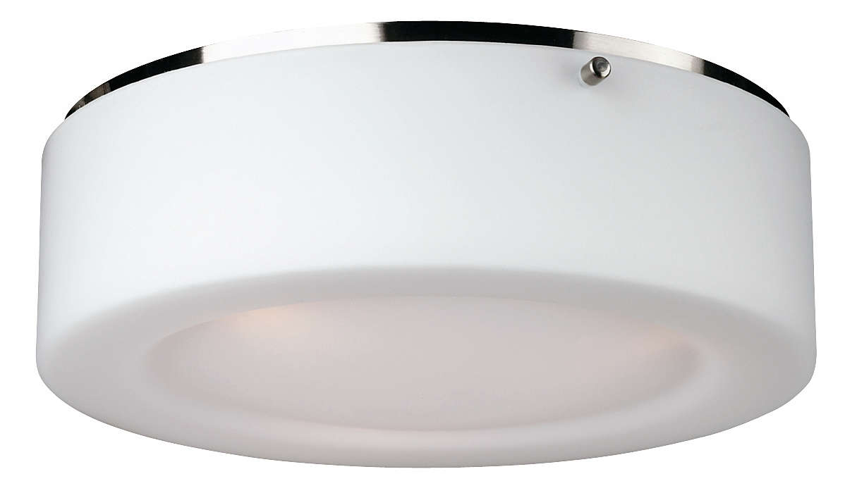 Passage 2-light Ceiling in Satin Nickel finish