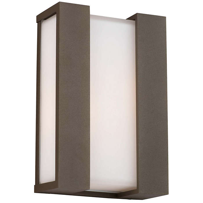 Newport 2-light Outdoor Wall in Bronze finish