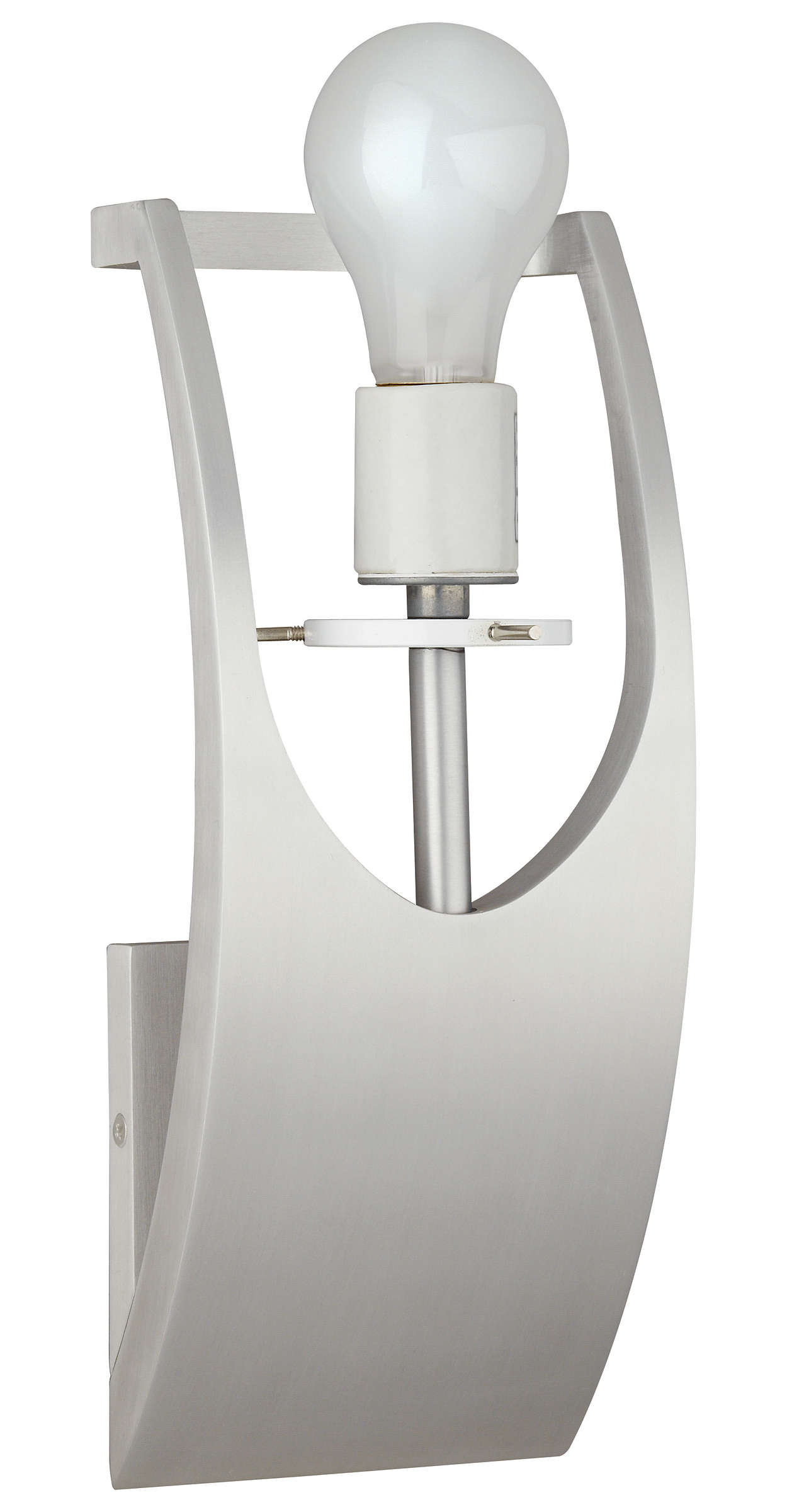 James 1-light Bath in Satin Aluminum finish