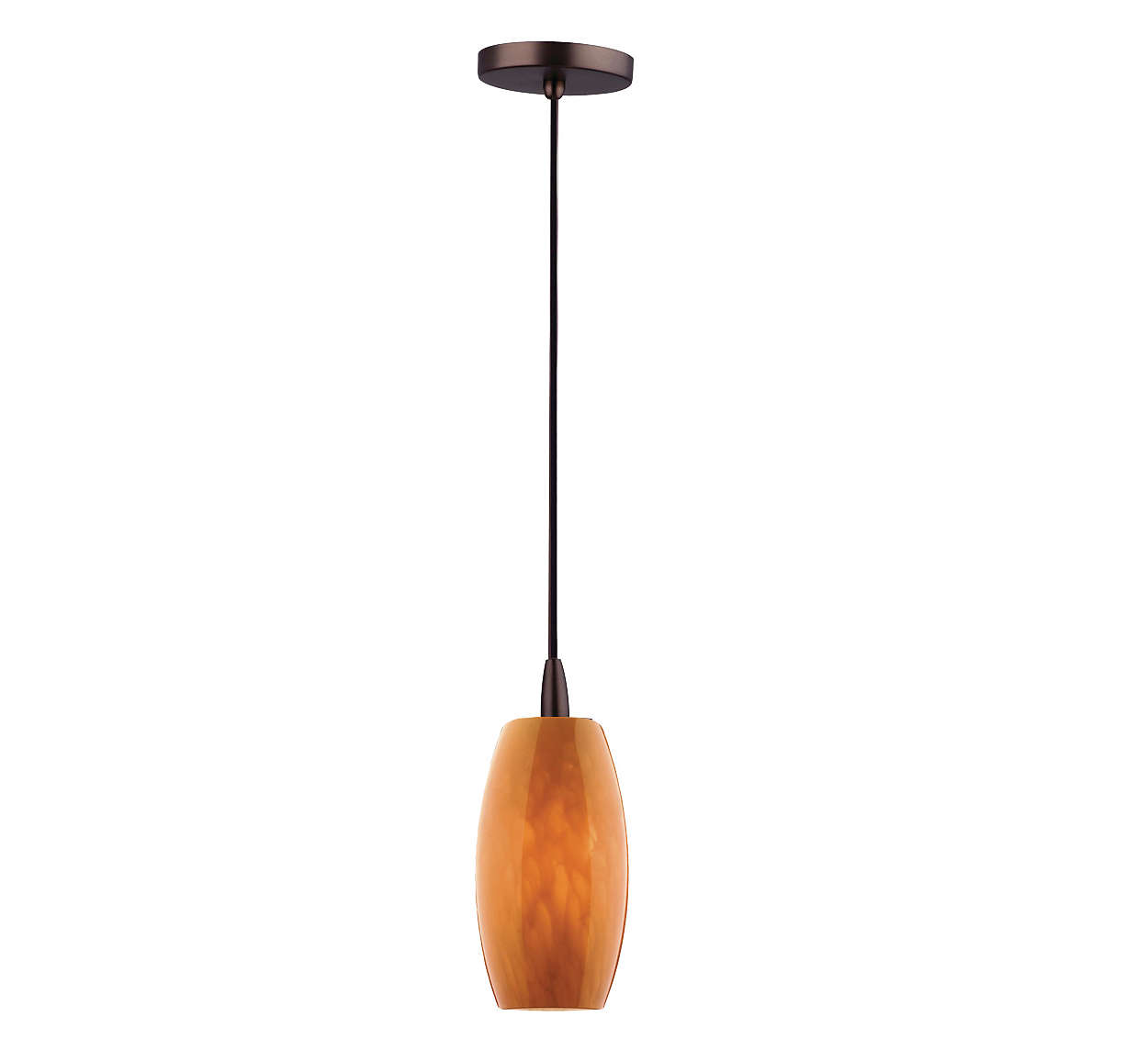 Wishes 1-light pendant in Merlot Bronze finish