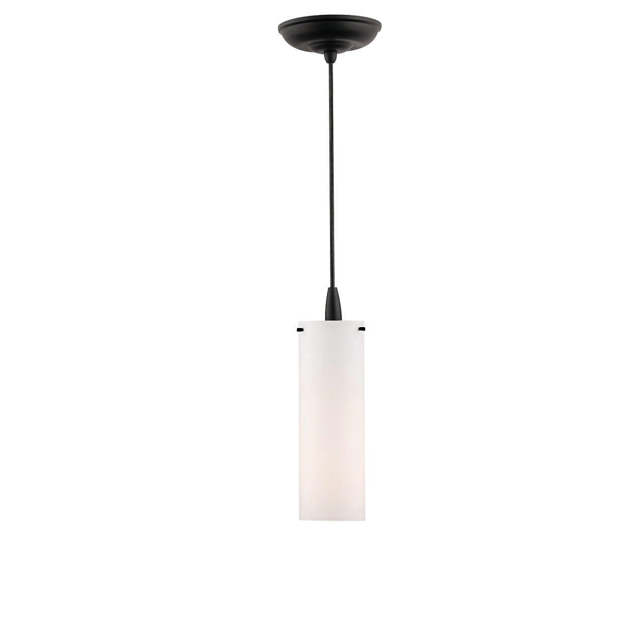 Current 1-light pendant in Black finish