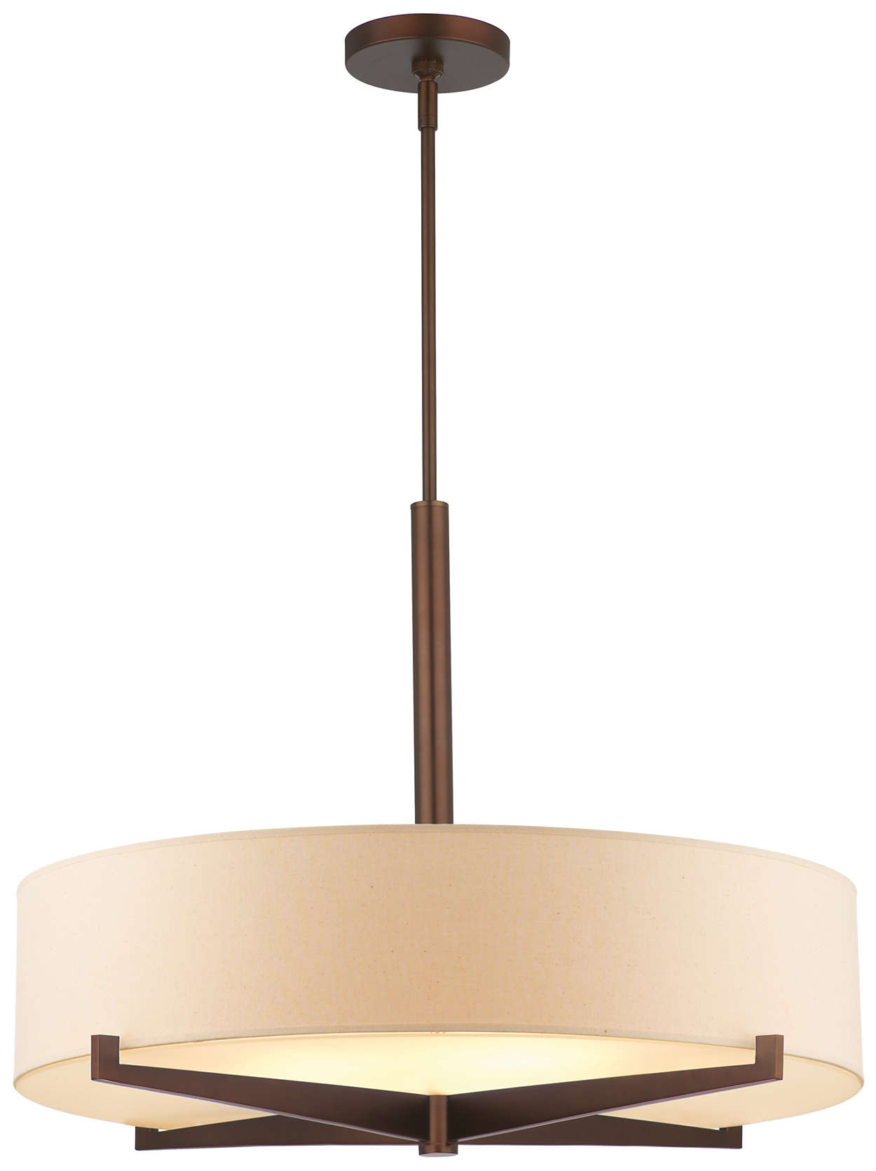 Fisher Island 3-light pendant