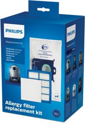 Philips Kit de rechange, 4sacs (S-bag® ULP) FC8060/01
