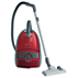 Vacuum cleaner with bag