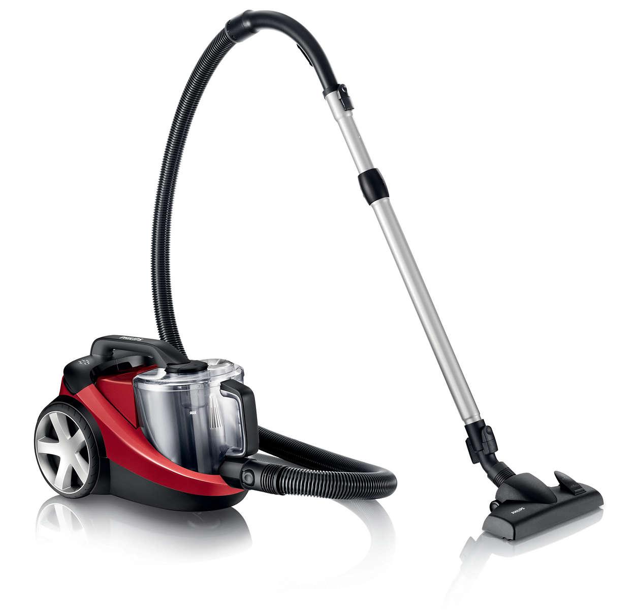 Powerpro Bagless Vacuum Cleaner Fc8760 01 Philips