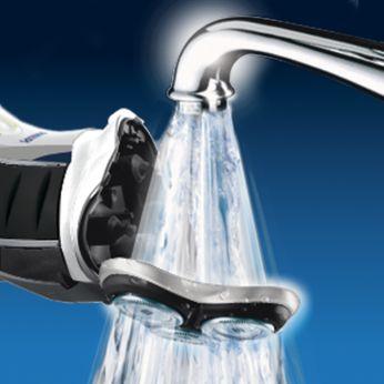 Máquina de barbear lavável
