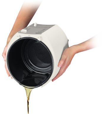 O descarte ou o escoamento de óleo sem sujeira é feito através da tampa