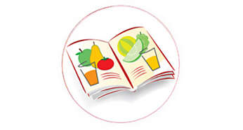 Recipe booklet contains 10 delicious juice recipes