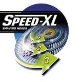 Speed-XL shaving heads