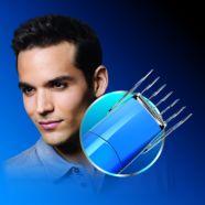 Hair clipper comb locks into 9 settings