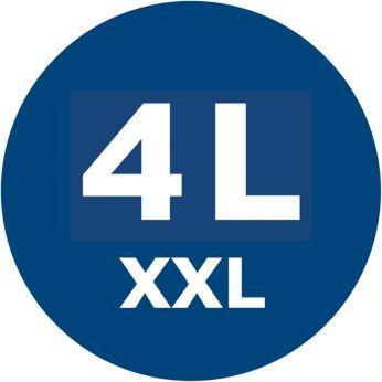 Worek na kurz s-bag XXL o pojemności 4litrów zapewnia długi czas użytkowania