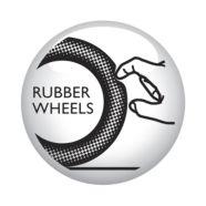 Zachte rubberen wielen