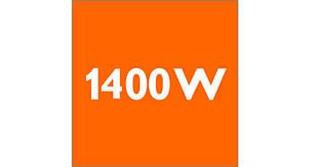Мощность в 1400Вт