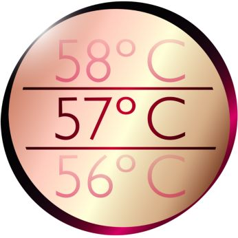 Thermoprotect for a constant caring temperature of 57°C