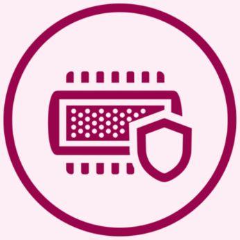 Hệ thống cạo an toàn để bảo vệ da tối ưu