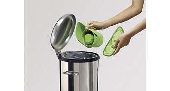 Cyclonic dustbin 1 liter