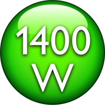 มอเตอร์ขนาด 1400 วัตต์ ให้พลังดูดสูงสุด 200 วัตต์