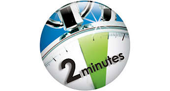 2-minute timer