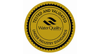 WQA has certified and awarded Gold Seal to this product