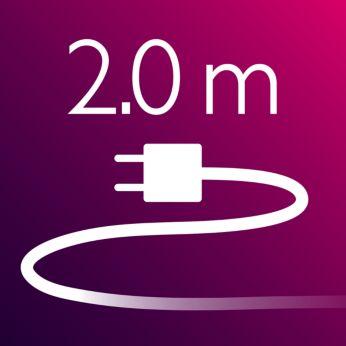 Kabel 2 m untuk memudahkan penggunaan