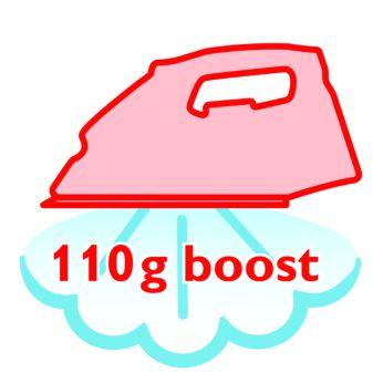 Паровой удар 110г для легкого разглаживания неподатливых складок