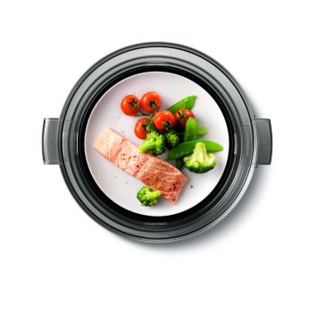 Keep Warm function keeps food ready for serving