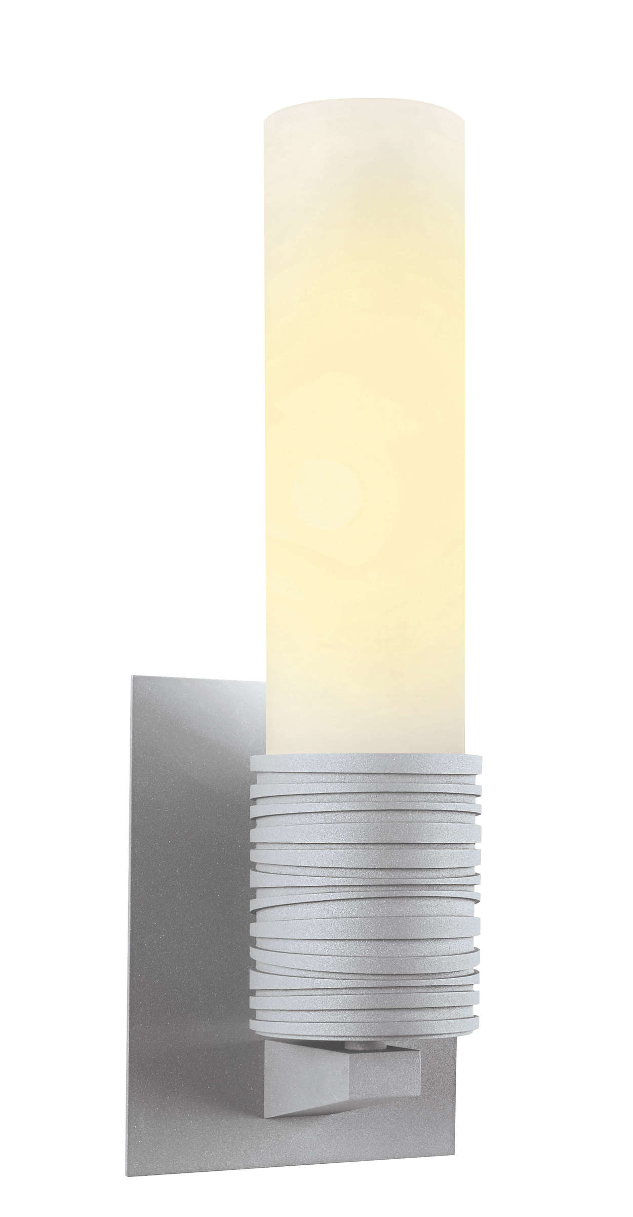 Phoenix 1-light CFL wall sconce in Graphite finish