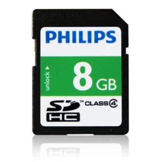 Philips  Thẻ SD 8GB FM08SD35B/97