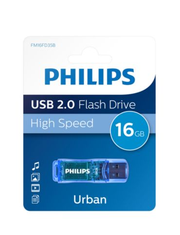 Philips  USB Flash Drive 16GB FM16FD35B/00