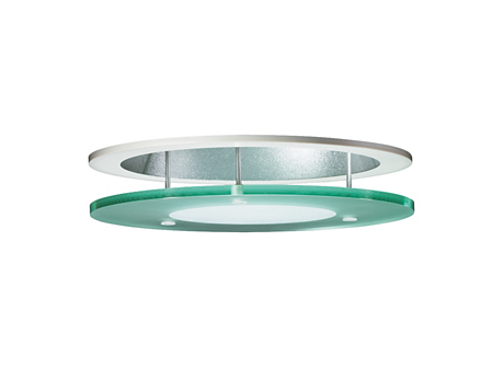 ZBS261 FRG-C SUSP GLASS DISK FROSTED