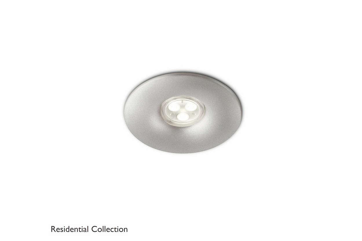 Binnenverlichting Woonkamer Verlichting : Aquila recessed aluminium ...