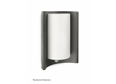 Meander wall lantern anthracite 1x20W