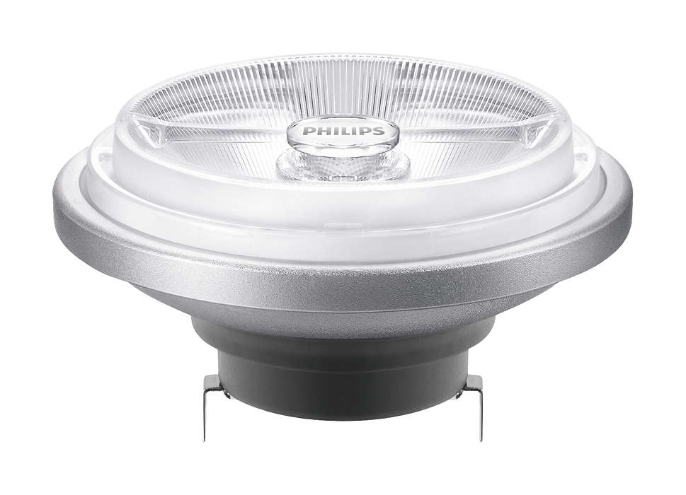 The AR111 LED is ideal solution for spot lighting in shops