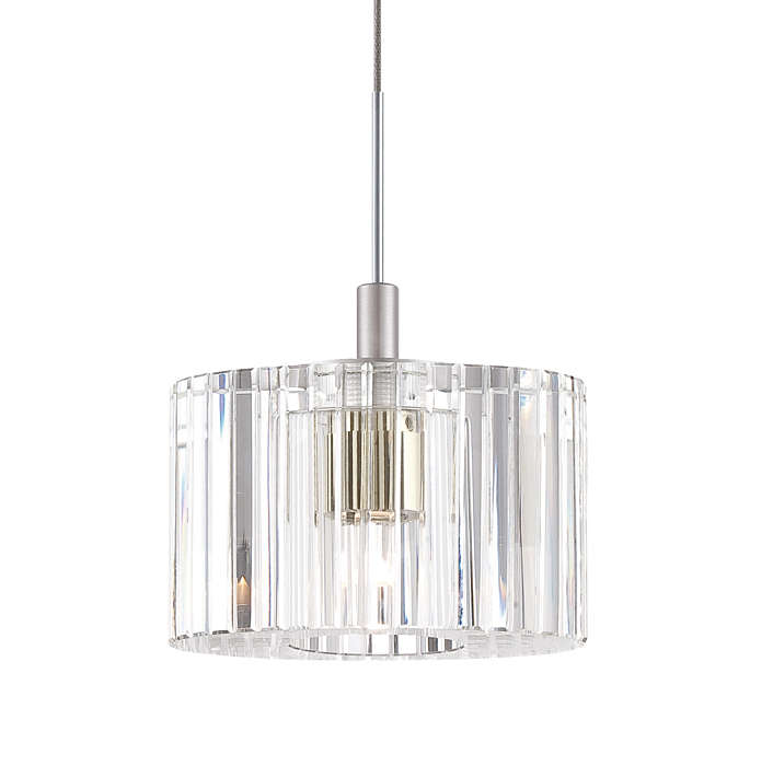 Liz clear crystal shade