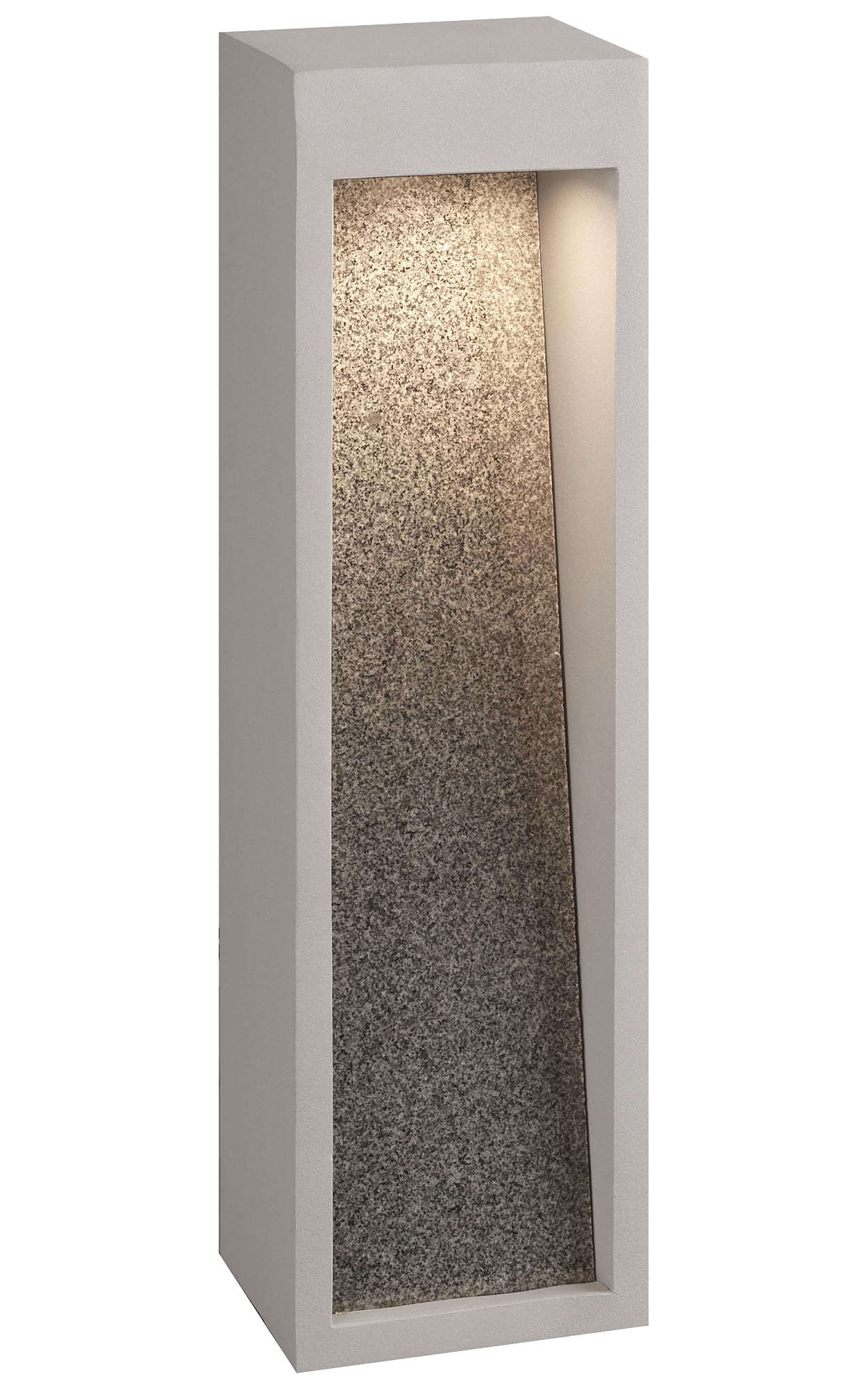 Starbeam LED outdoor wall lantern, Graphite finish