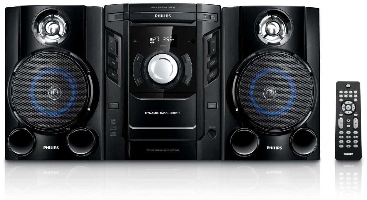 Mp3 Mini Hi Fi System Fwm154 05 Philips