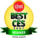 CNET (Best of CES, Home Audio) Award