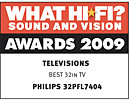 Награди What Hi Fi? Sound & Vision за 2009 г.