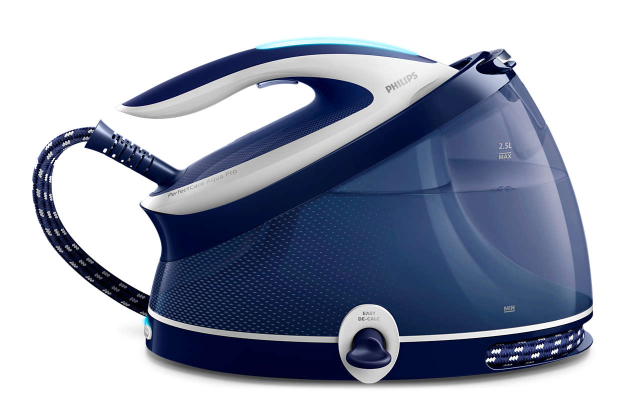 Ultra-powerful ironing and perfect vertical steaming