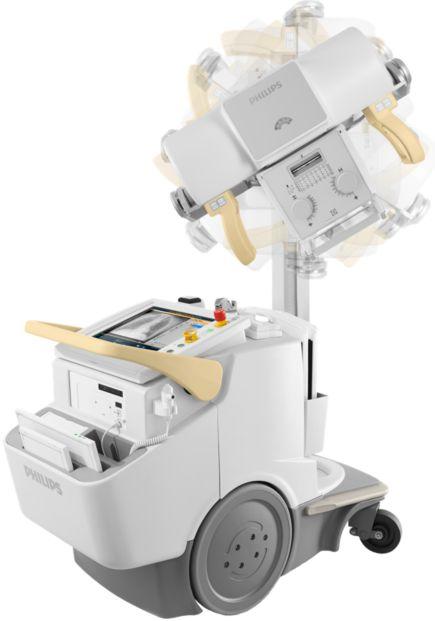 MobileDiagnost wDR Мобильная рентгенографическая система