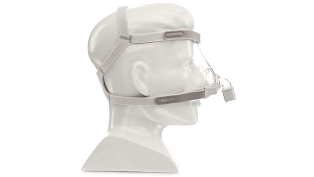 The lightest and smallest nasal mask on the market*