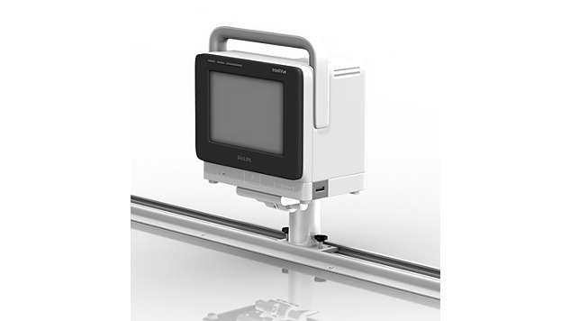 IntelliVue MX400/MX450/MX500/MX550: Horizontal Channel Mount