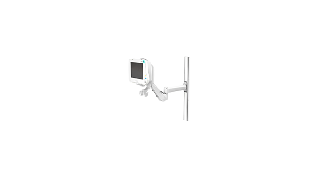 "IntelliVue MP40/50: VHM™ with 14""/35.6 cm Extension Wall Mounting Kit"