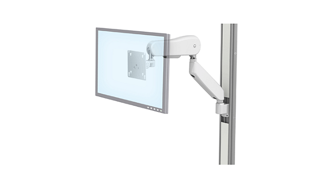 Flat Panel: VHM-25™ with Angled Extension Channel Mount Kit*