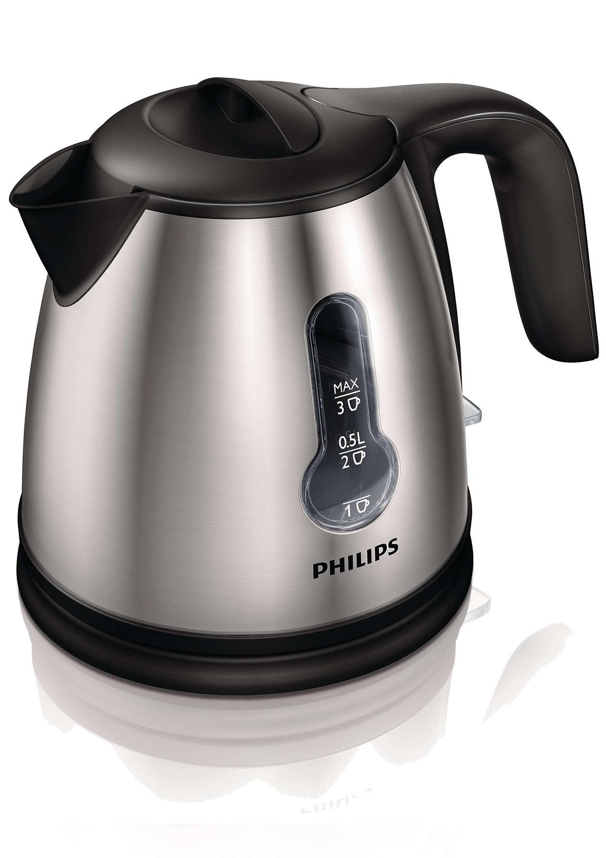 Acheter le philips mini bouilloire hd4618 20 for Calculer la puissance necessaire pour chauffer une piece